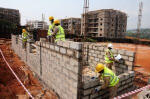 Construction site in Kenya